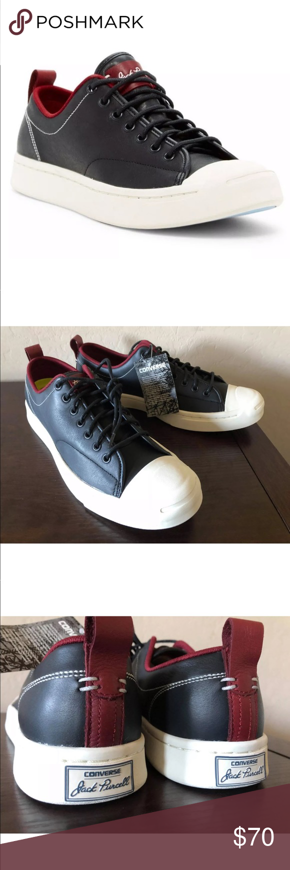 ccbb90dcad50 Men s Converse Jack Purcell JP M Series Ox Shoes NEW AUTHENTIC CONVERSE  JACK PURCELL M SERIES