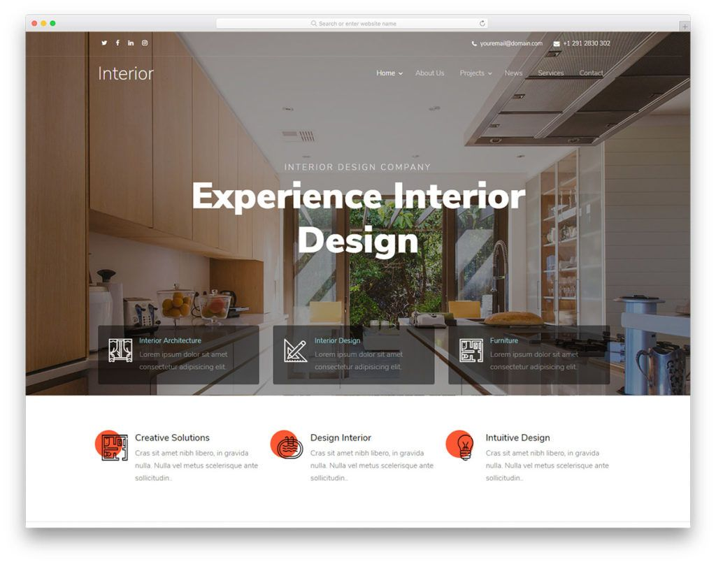 56 Best Free Architecture Html Website Templates 2020 With