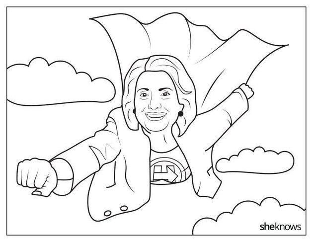 21 Printable Coloring Sheets That Celebrate Girl Power Coloring