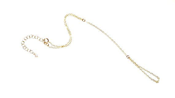 Gold Filled Chain Linked Ring and Bracelet  Hand by ECRUmetal, $45.00
