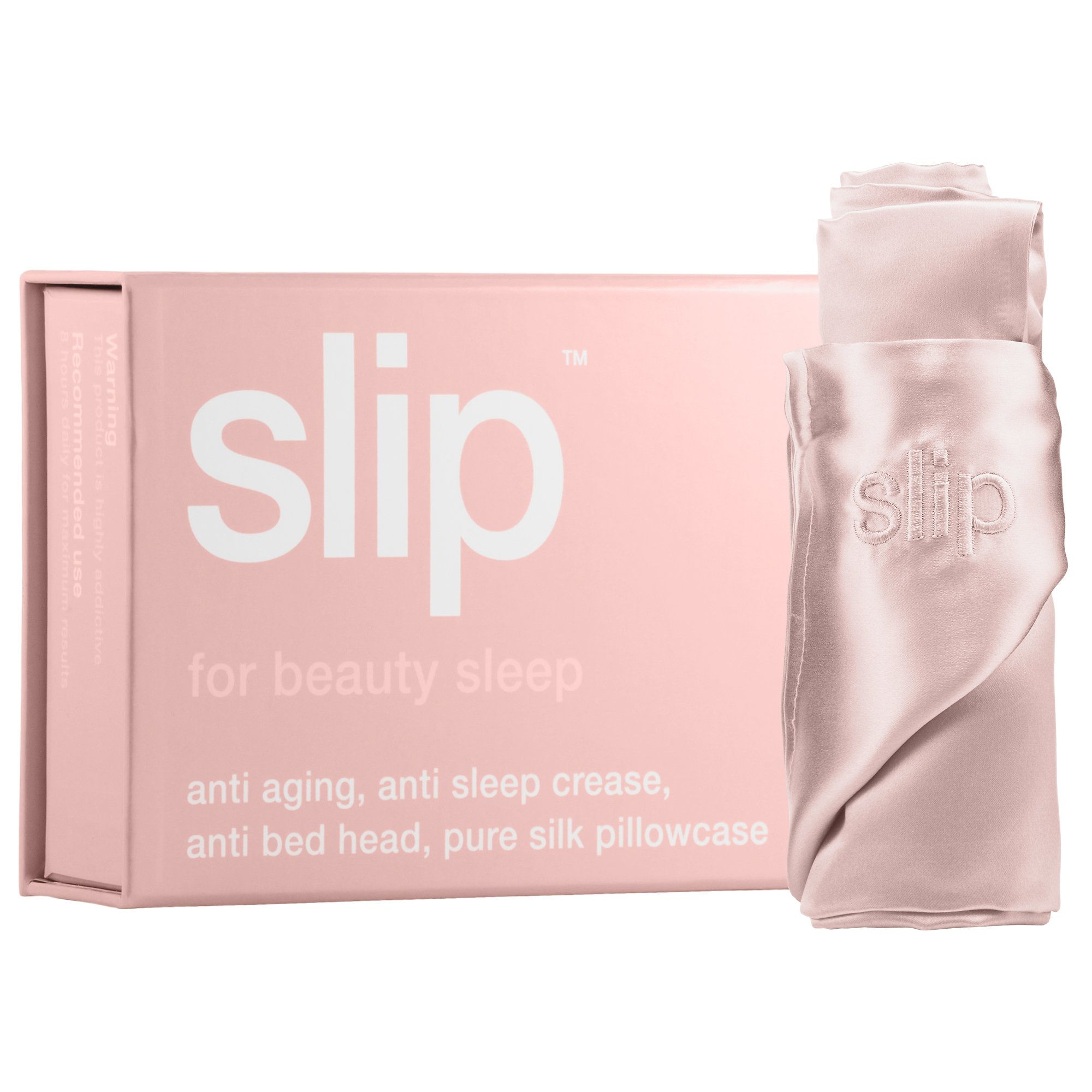 Slip Pillowcase Review Brilliant Shop Slip Beauty's Queen Silk Pillowcase At Sephorathe Antiaging Decorating Design