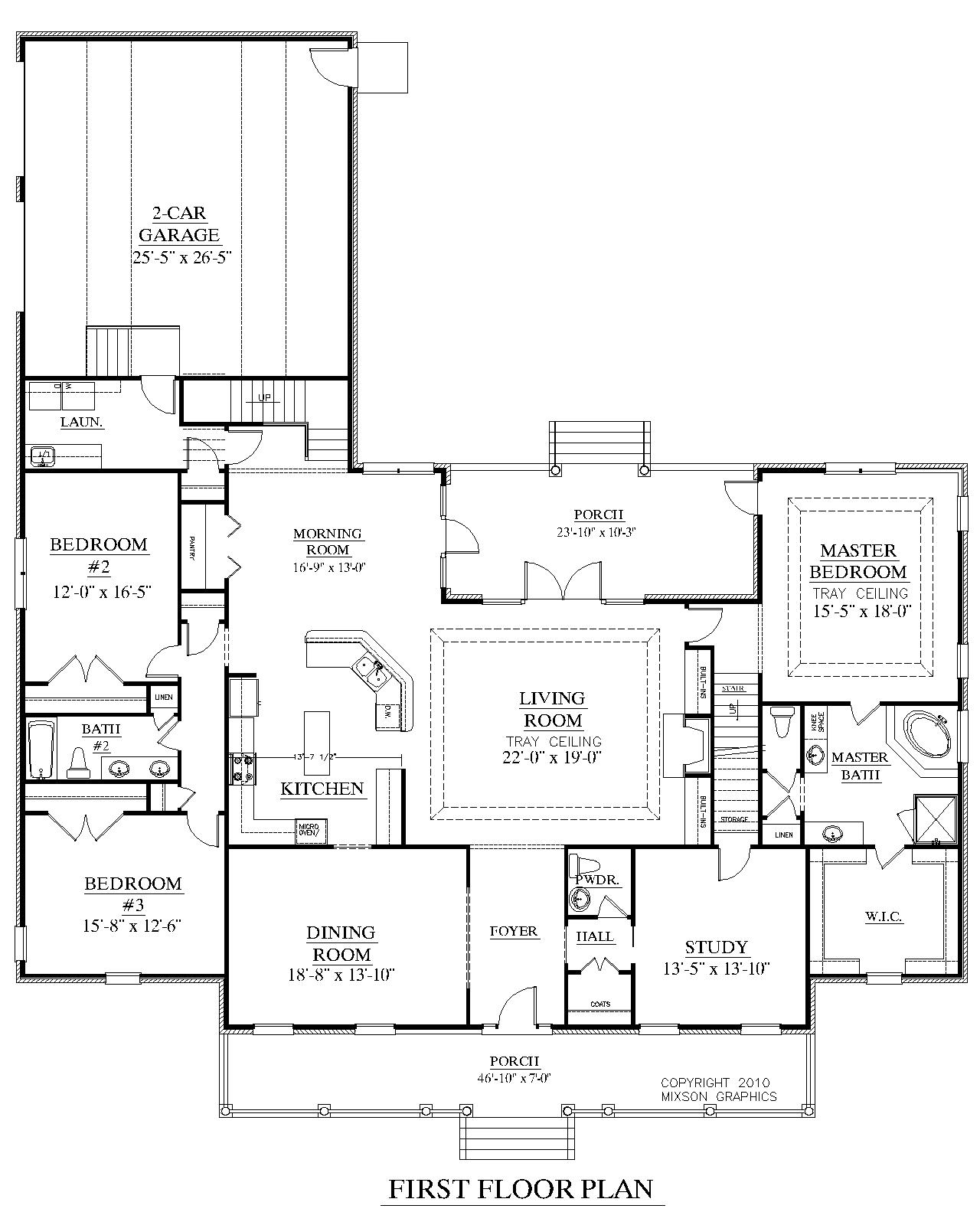 house plan 3027 a the brookgreen a 1st floor plan house plans in rh pinterest com