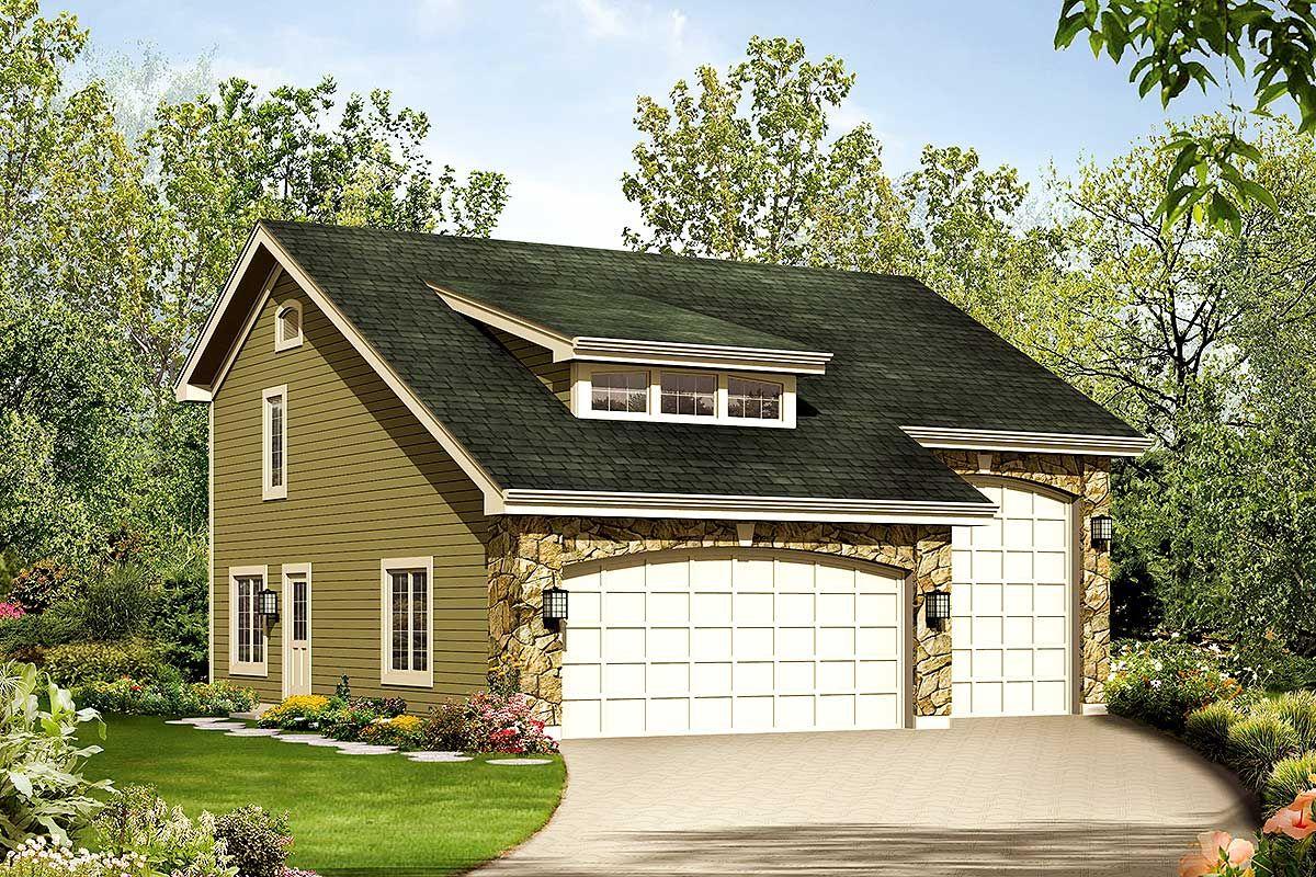 Plan 57157ha Apartment Garage Plus Rv Storage Cottage Style House Plans Carriage House Plans Cottage Style Homes
