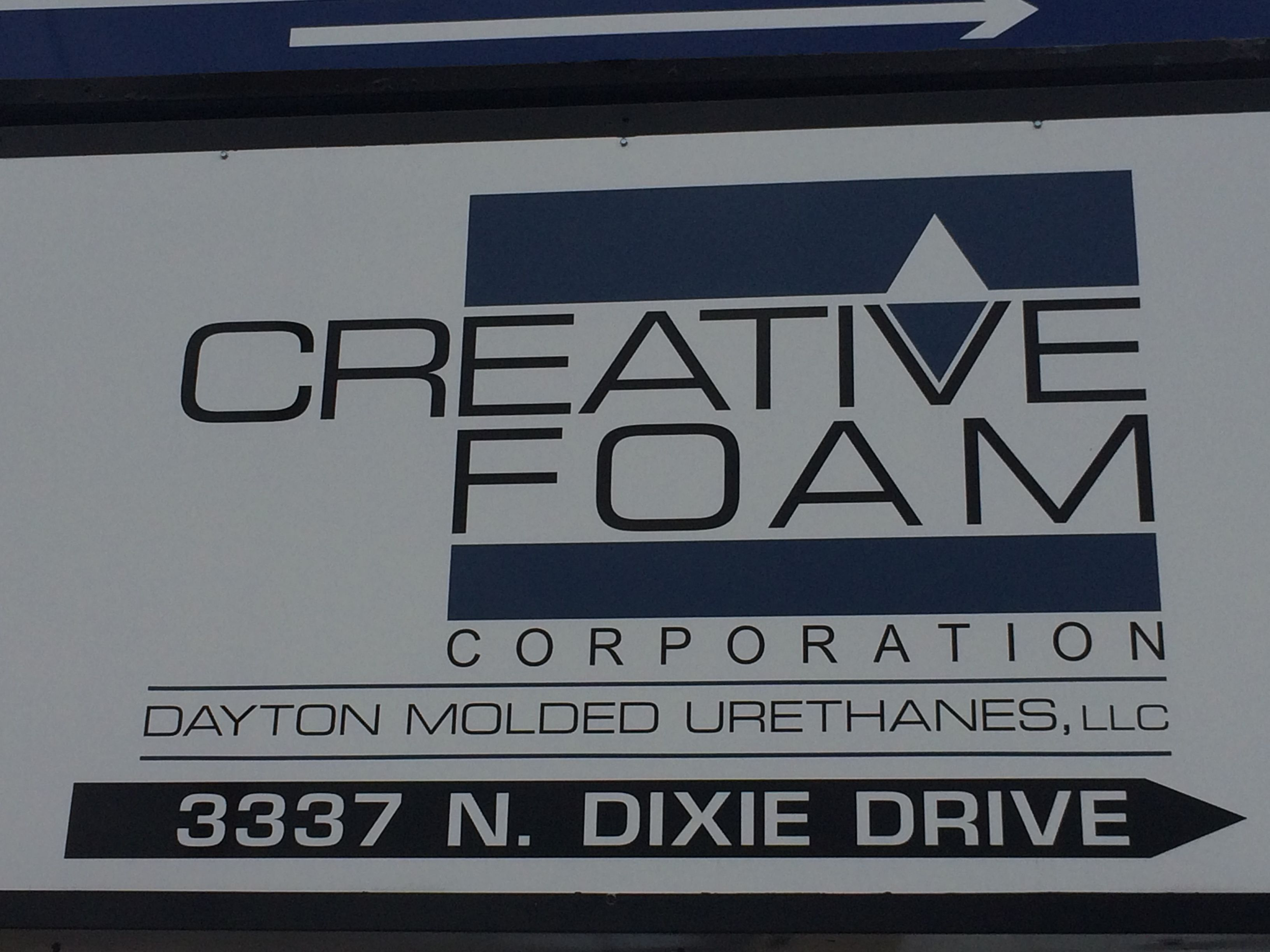 Our DMU sign located in Dayton, OH