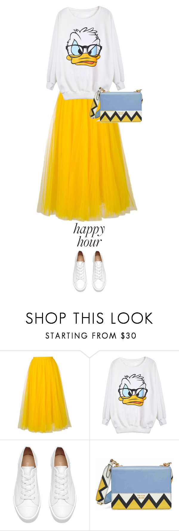 """""""happy hour"""" by ecem1 ❤ liked on Polyvore featuring Rochas and Prada"""