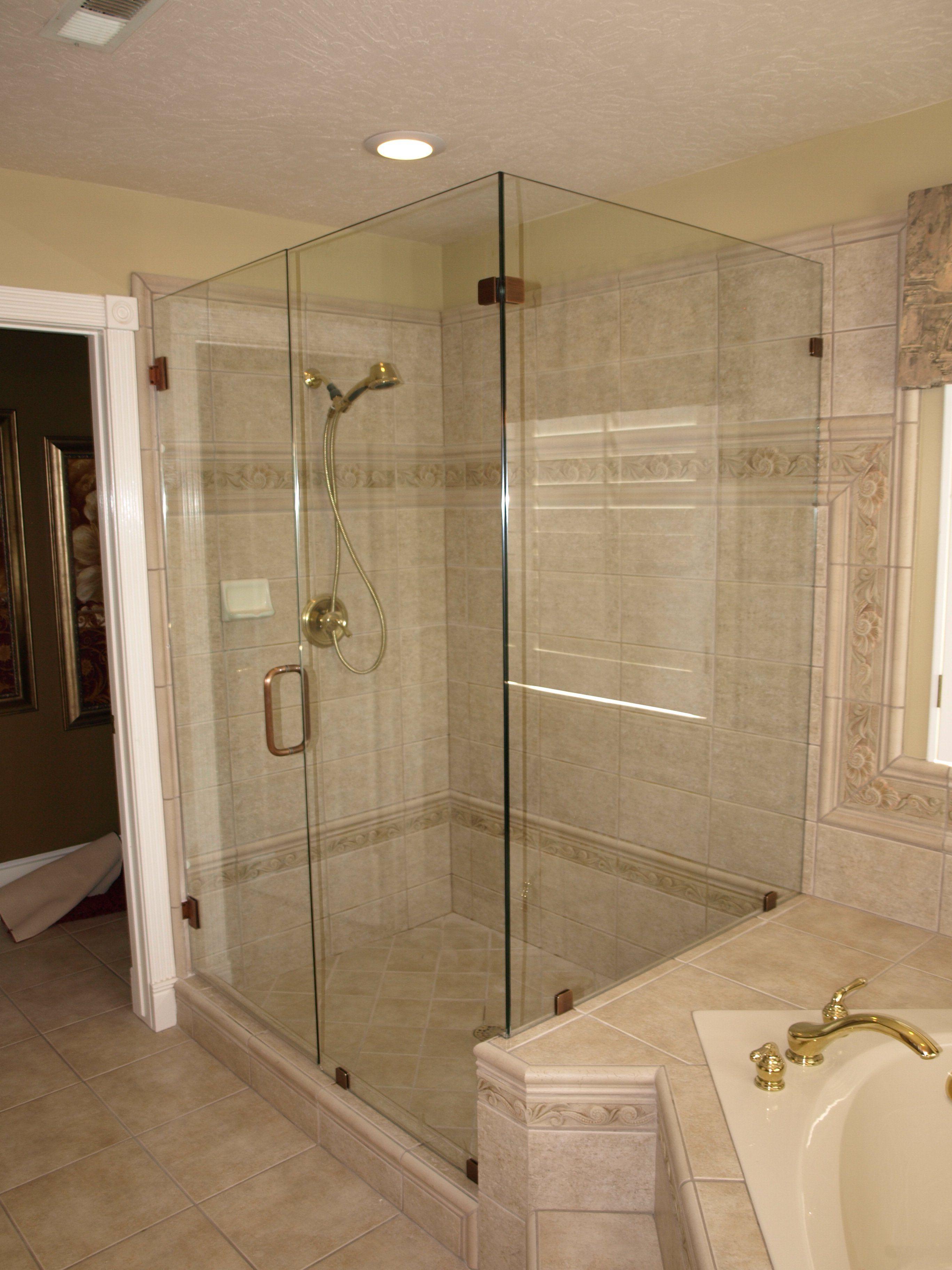 Custom Glass Shower Enclosure Glass Shower Shower Doors Glass
