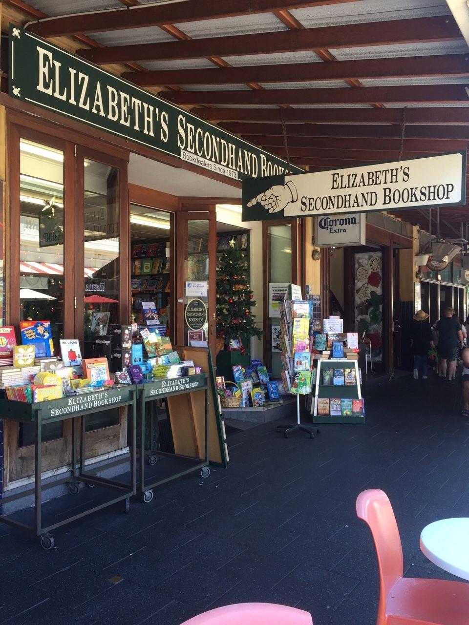 Elizabeth's Secondhand Bookstore, Fremantle, Western Australia.