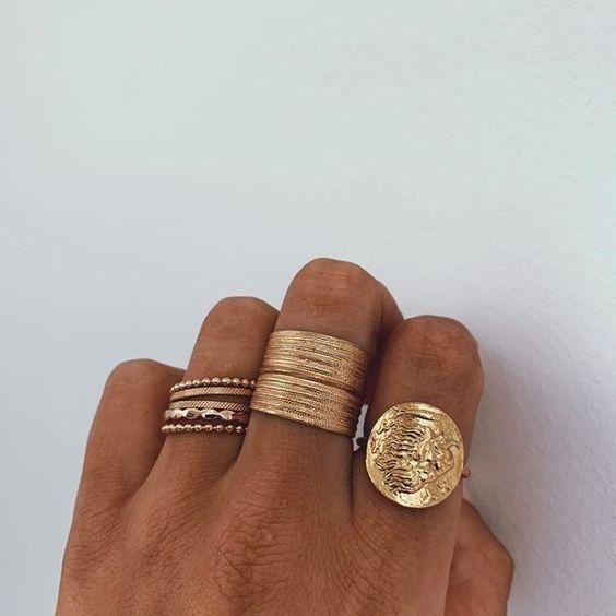 Photo of Jóias jóias de ouro | Anéis de ouro | Goldschmuck Goldringe Clas … Jóias | Ir …