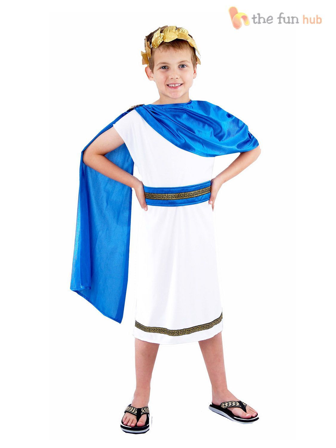 World Book Day-Ancient Egypt-Rome-Greece-PHARAOH 1 Larger Child Sizes