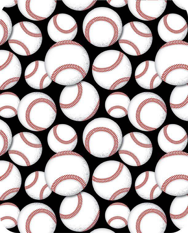 Baseball Cuddle Black Cuddle® Classics Baseball