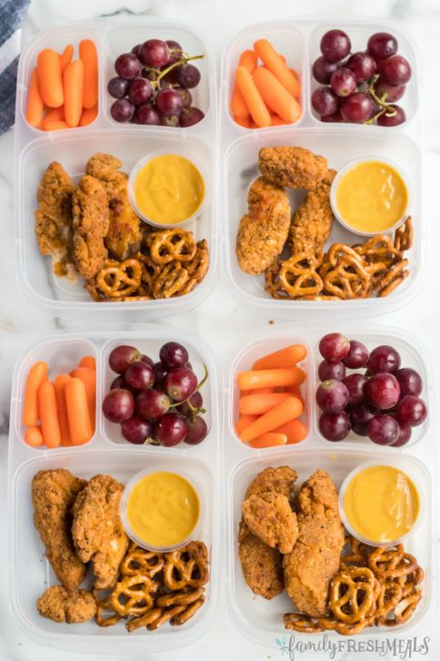 Chicken Tenders Easy Lunchbox is part of Family fresh meals - My Chicken Tenders Easy Lunchbox Idea is a great lunch box ideas for a work lunch or school lunch  Packed it fast with in your favorite lunch box!