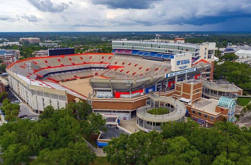 Ben hill griffin stadium gainesville united states of