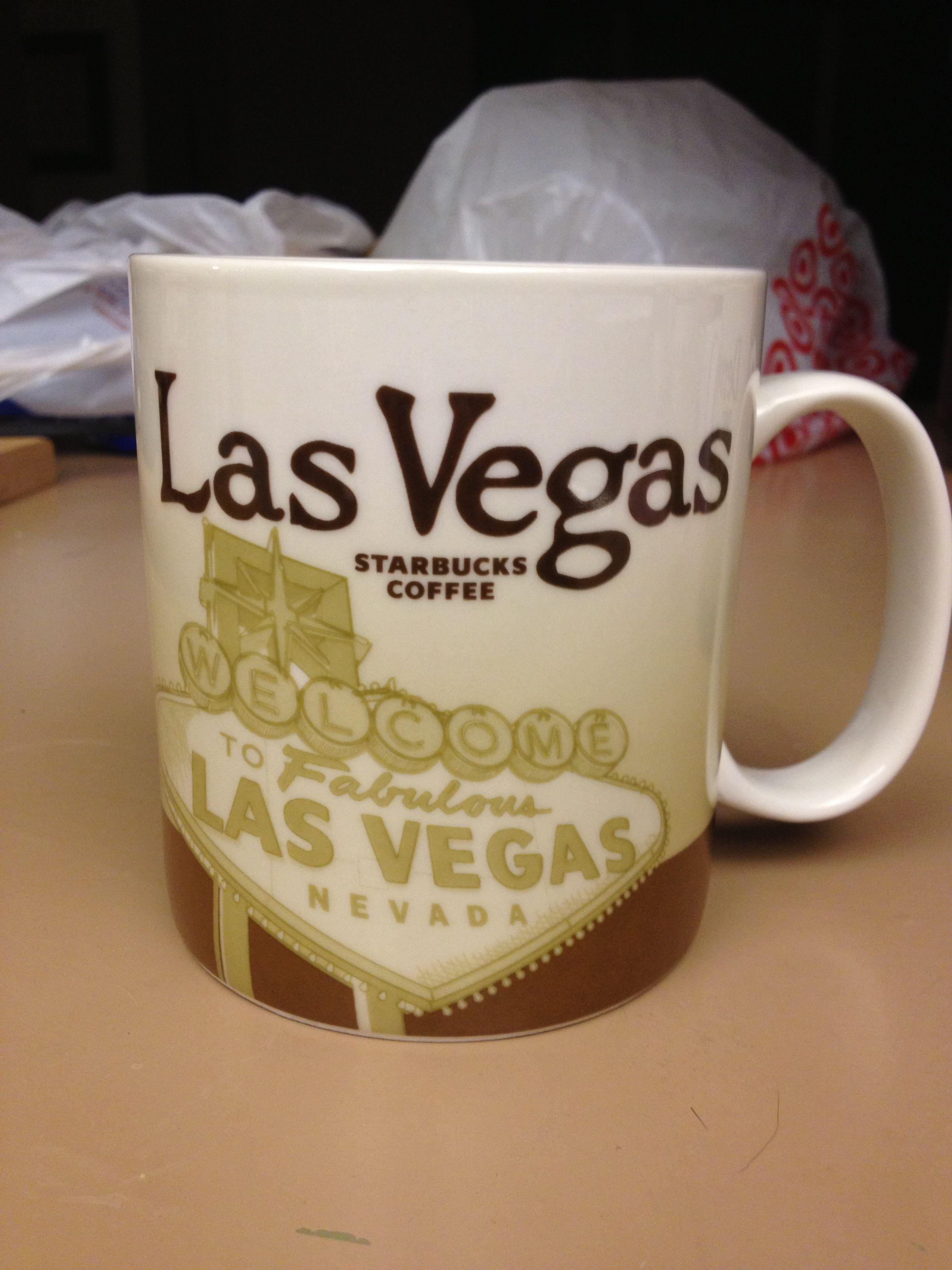 Las Vegas, NV (1) Starbucks mugs, Starbucks, Mugs