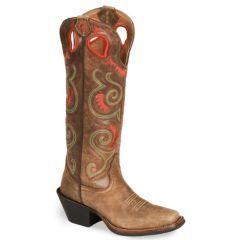 Tony Lama 3R Series Tumbleweed Buckaroo Boot - Square Toe