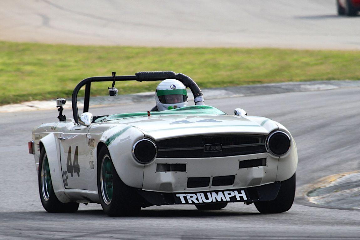 Bill Warner, 71 Triumph TR6