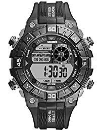 7a5e0f8c7c26 Kamiwwso Correa de Resina Reloj Deportivo Reloj Digital al Aire Libre  Impermeable Relojes Digitales  YaSeLoQueQuieroEnNavidad