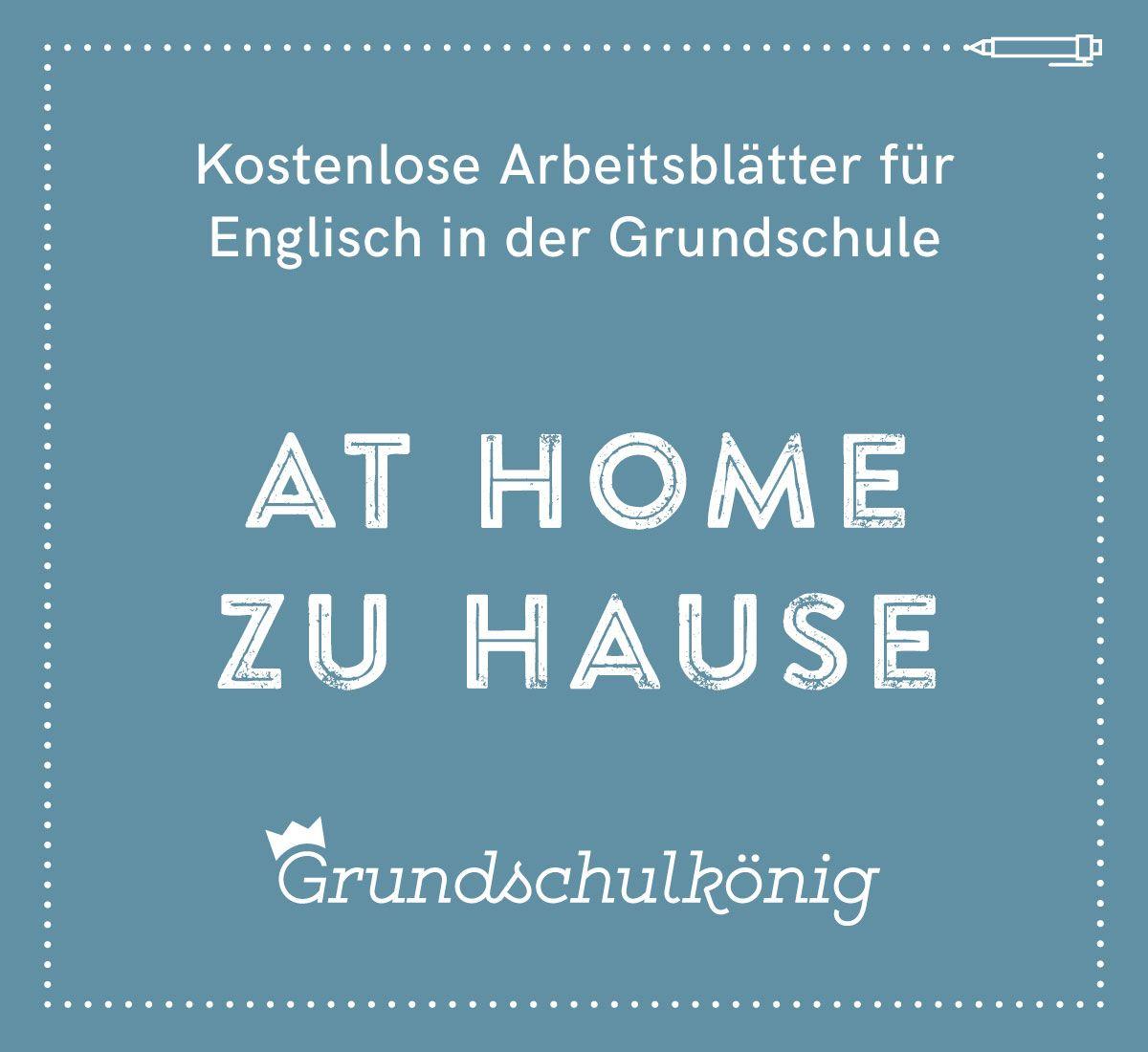 kostenlose arbeitsbl tter f r englisch in der grundschule at home zu hause englisch english. Black Bedroom Furniture Sets. Home Design Ideas