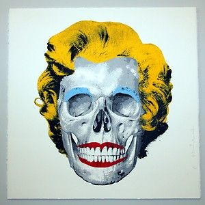 Pin by FOSTER GINGER on ARTIST : ANDY WARHOL ( 1928 - 1987 ... - Pochoir Tete De Mort