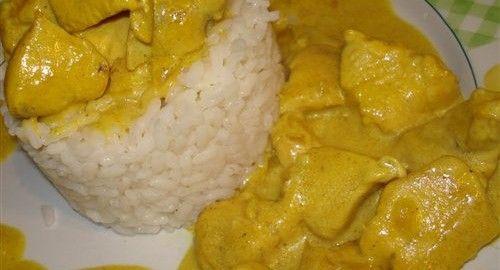 Salsa Curry baja en calorías