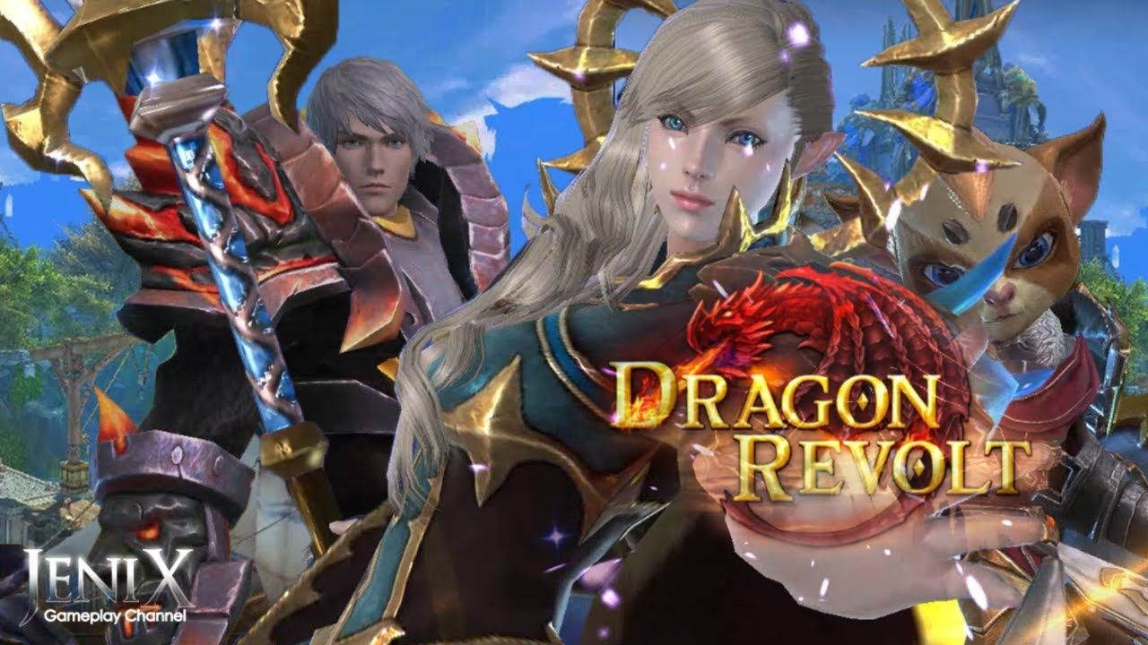 Dragon Revolt Gameplay / Open World MMORPG / Android / iOS