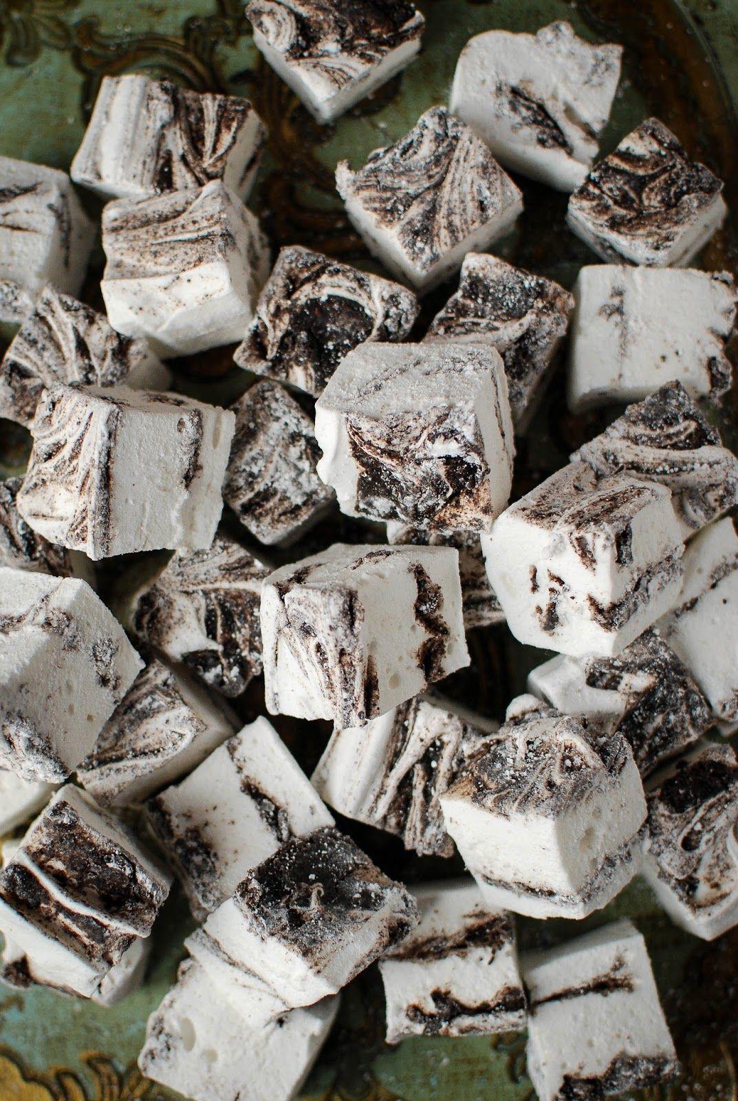 Oreo Swirl Marshmallows Recipe - Katiecakes