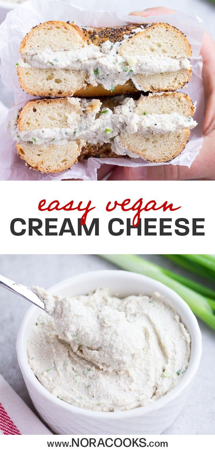 5 Minute Vegan Cream Cheese