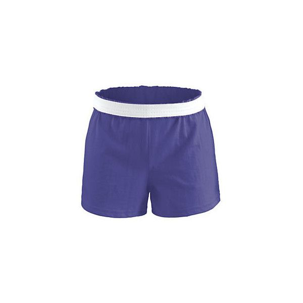 The Authentic Shorts ❤ liked on Polyvore featuring shorts, elastic waistband shorts, short shorts and elastic waist shorts