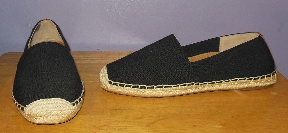 226b05a989c Vionic with Orthaheel Valeri Black Espadrille Flats Size 7.5 M  fashion   clothing  shoes