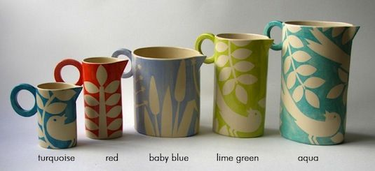 Ken Eardley Ceramics From Avaocado Sweet, Also At The Lovely Http://www