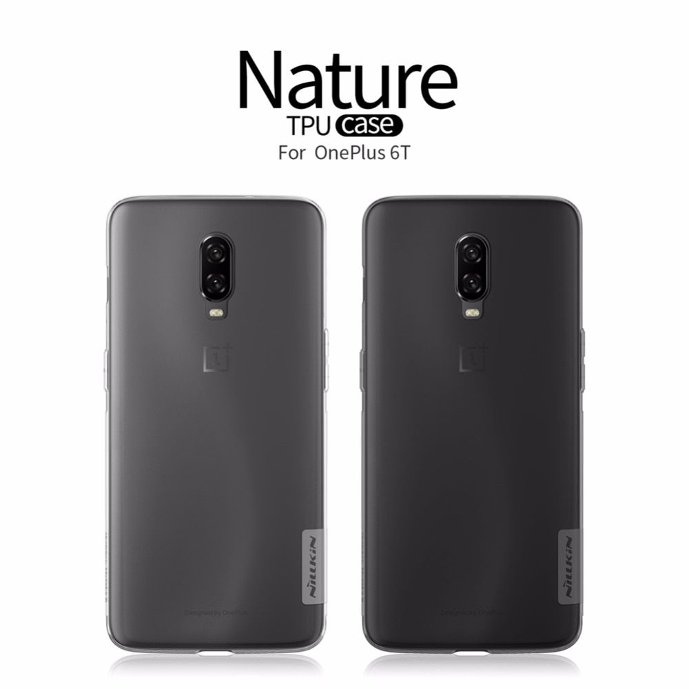 Case For Oneplus 6t One Plus 6t Nillkin Nature Transparent Clear