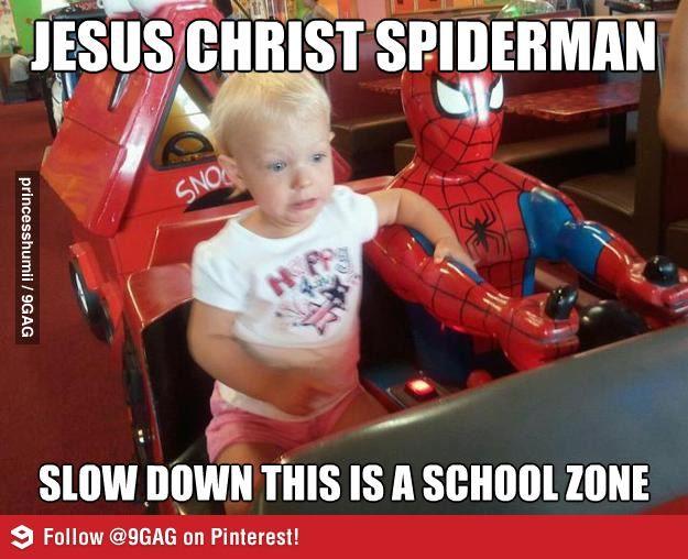 Jesus Christ Spiderman Funny Pictures Funny Kids Bones Funny