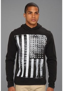 dee8a80f65 Marc Ecko Cut & Sew - Undefeated Hoodie (Black) - Apparel on shopstyle.com