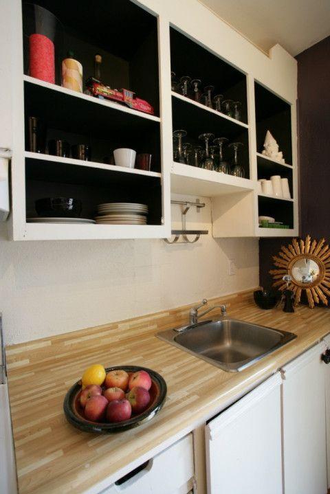 La cuisine d 39 anna avant apr s - Peinture d armoire de cuisine ...