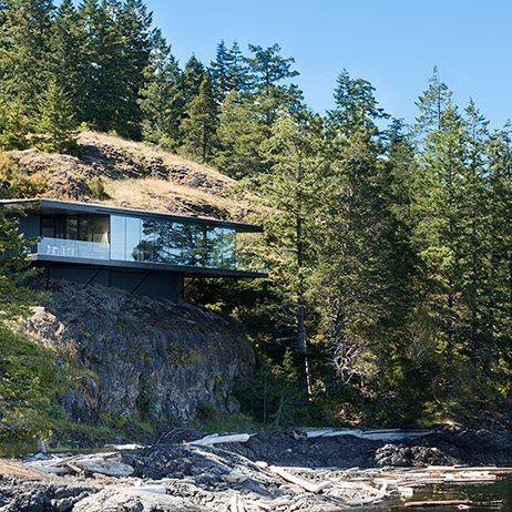 Five Contemporary Cliff Top Houses : Architectural Digest. SteinbruchHaus  ArchitekturPavillonRaumEinrichtungWohnenHaus Auf StelzenZeitgenössische ...