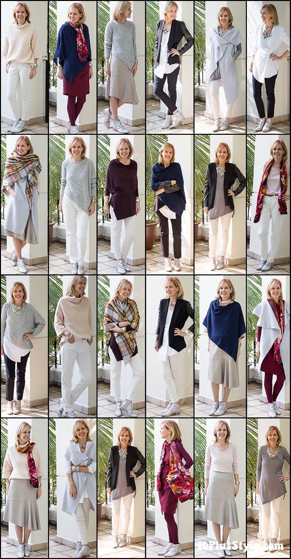 Garde robe pour femme de 50 ans