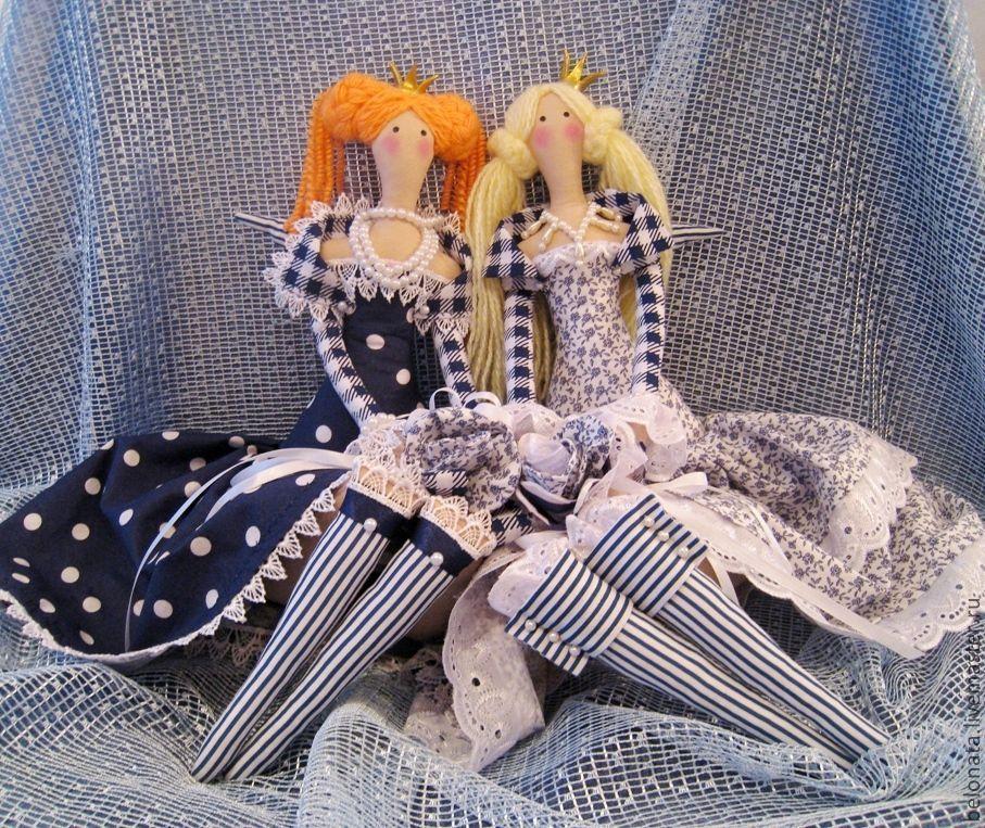 Купить Принцессы бывают разными - кукла ручной работы, кукла Тильда, кукла в подарок