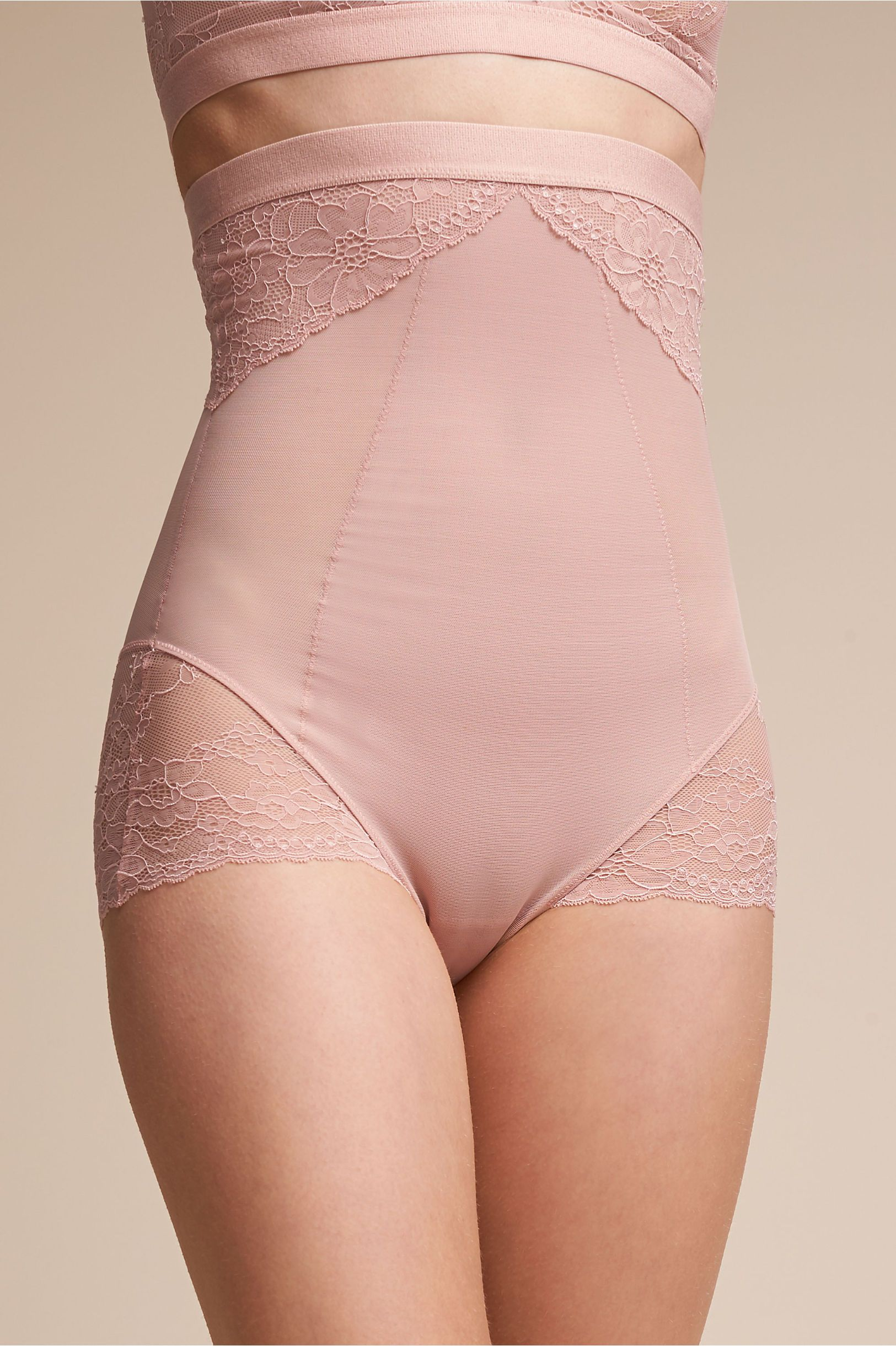 7cfb311d1f BHLDN s Spanx Spanx Lace Brief in Rose