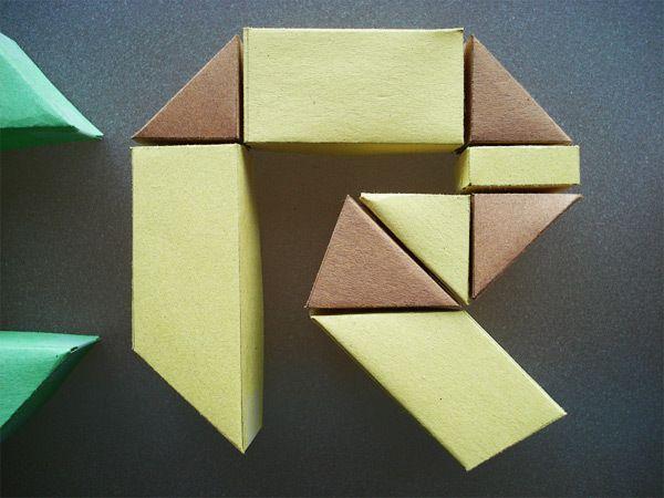 Origami Blã Tter