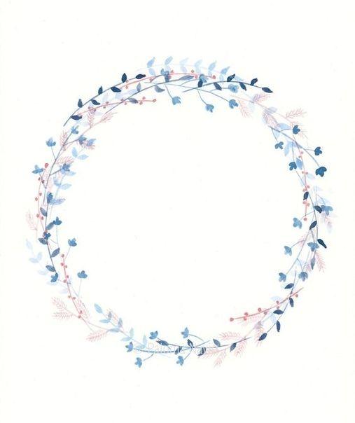 Blumenrahmen Bild Von Elena Lomako Auf Hintergrunde Herz