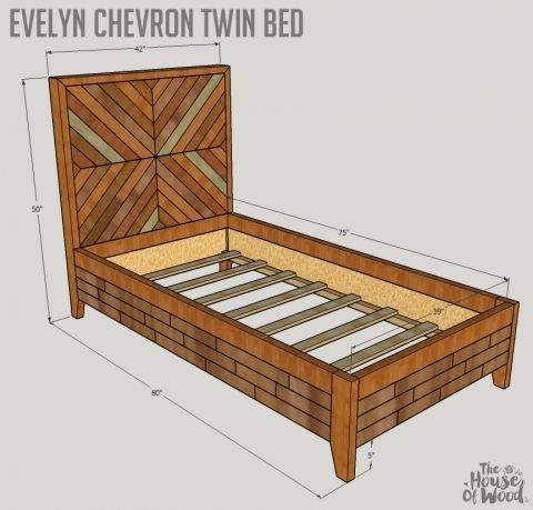 How to build a DIY West Elm Alexa Bed | Pinterest