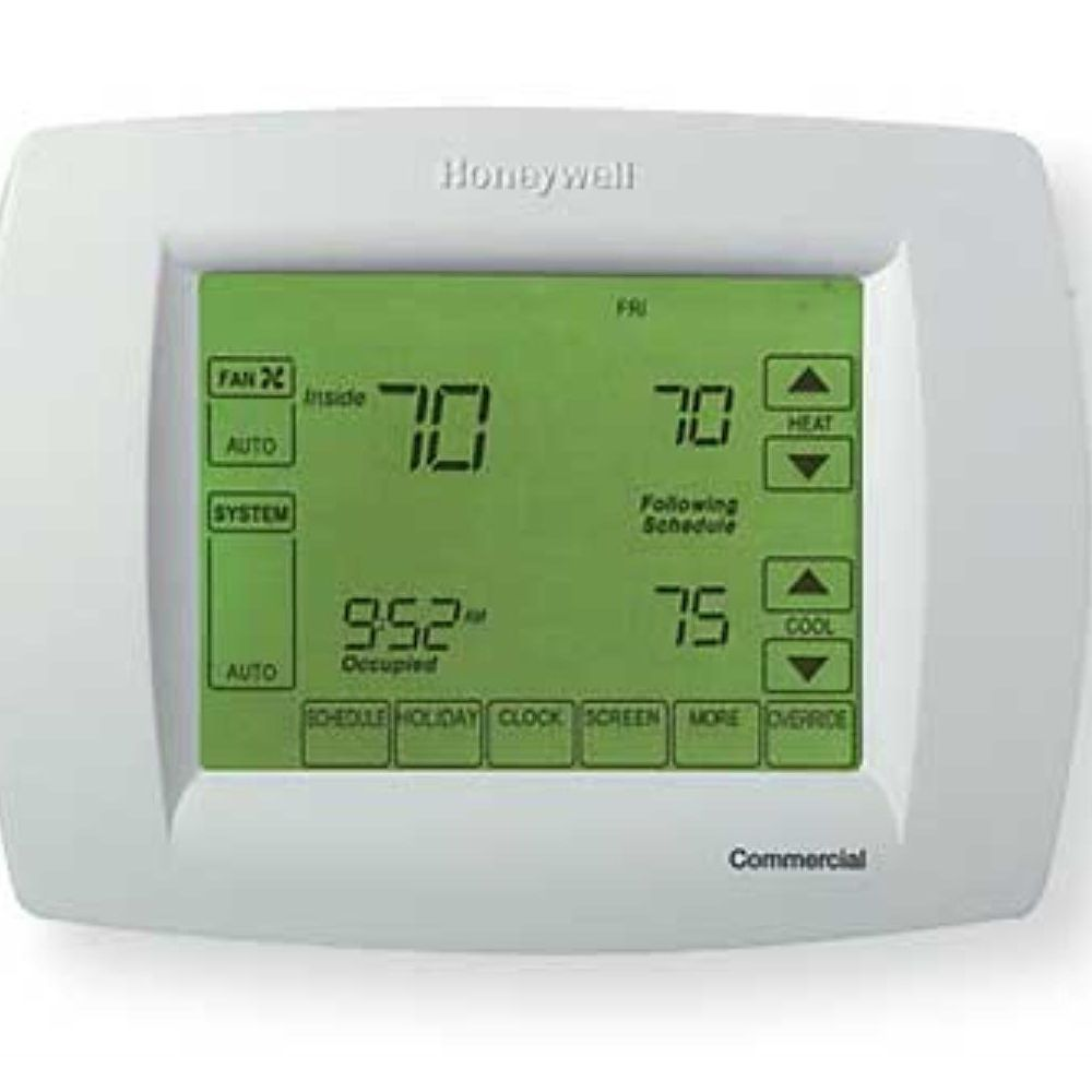 honeywell tb8220u1003 visionpro 8000 programmable thermostat [ 1000 x 1000 Pixel ]