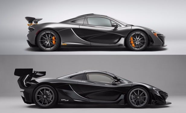 Mclaren P1 Lm Sets Nurburgring Record Then Drives Home To