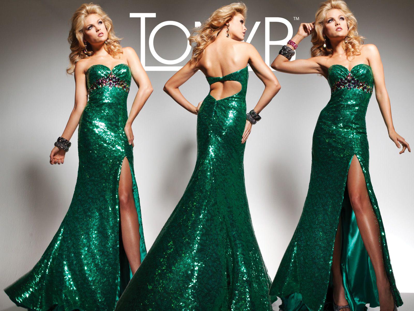 Tony Bowls Paris » Style No. 113756 » Tony Bowls | Evening Gowns ...