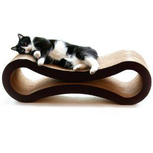Got one for D.C. and she loves it...a little less of an eye sore than other cat scratchers.