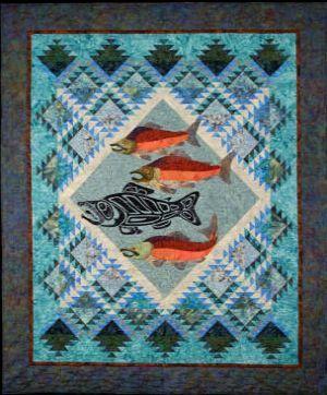 fish quilt patterns | Spirit Fish Quilt Pattern (BQPATB13 ... : fishing quilt - Adamdwight.com