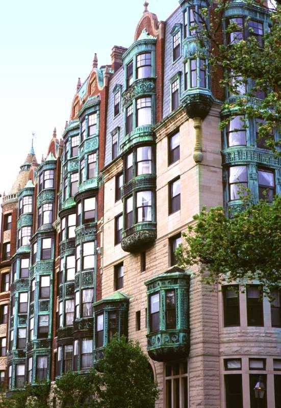 Back Bay Boston Architecture Boston Vacation In Boston