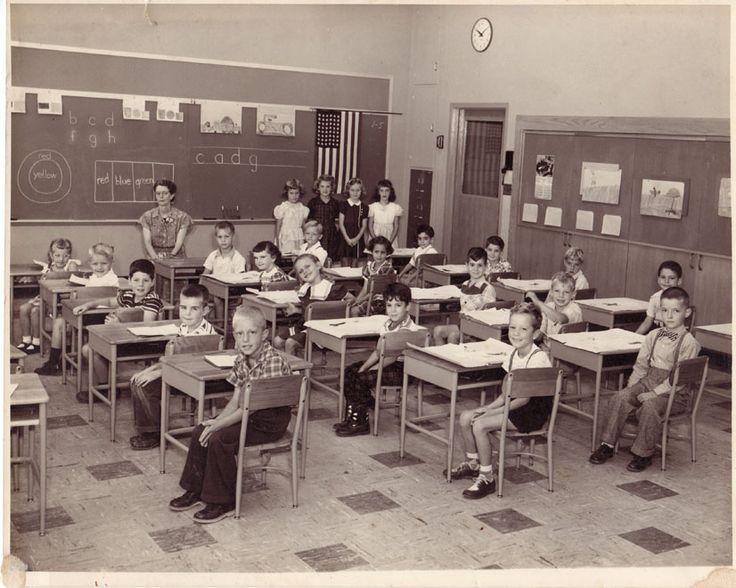1950s 2nd Grade Photo Olde School Pinterest