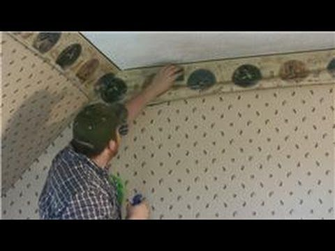 How To Remove A Wallpaper Border Wallpaper Borders Are Notoriously Difficult To Remove The Age Cleaning Painted Walls Taking Off Wallpaper Deep Cleaning Tips