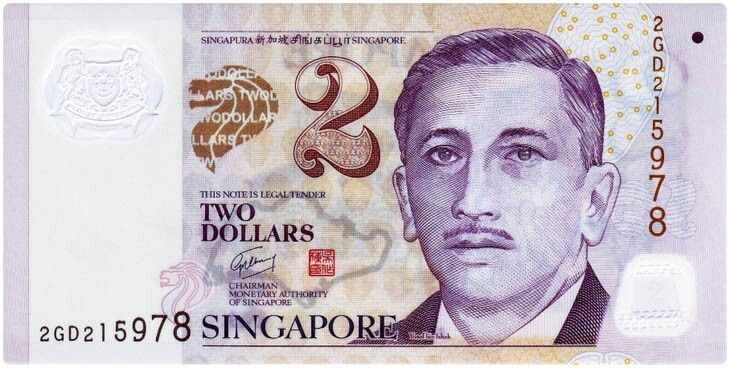 Singapore Currency Singapore Dollar Singapore Bank Notes