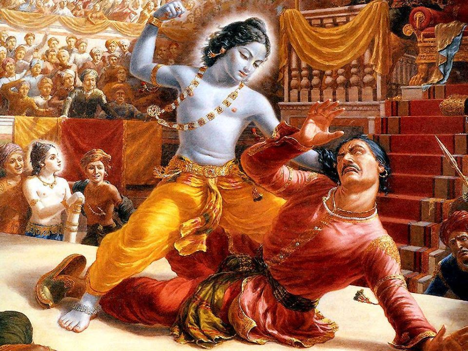 TALES OF KRISHNA ~ Part 1 concludes ~11~ The End Of Kamsa ! Part 2
